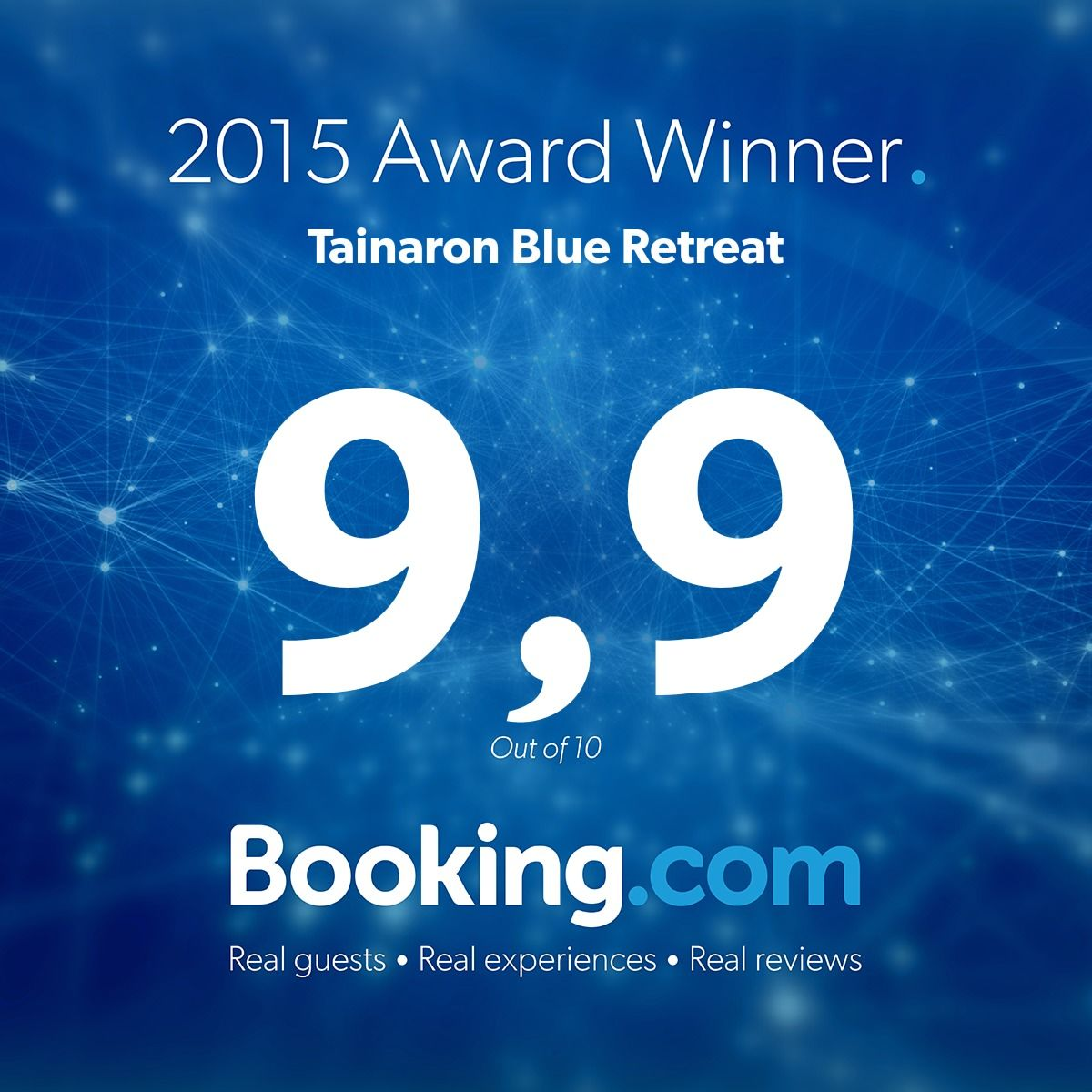 Booking.com — 2015 Award Winner